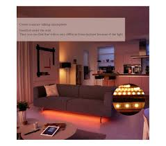Living Room Wireless Lighting Jiawen 5m Zigbee Wireless Rgb Ribbon Smart Led Lamp Rgb Eu Plug