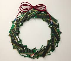 tried my hand at a ram wreath this holiday season geek