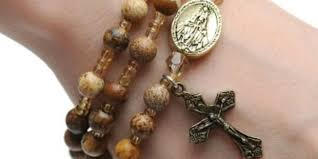 a rosary wearing a rosary as jewelry aleteia