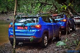 metallic blue jeep jeep compass india review price specs mileage image gallery