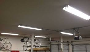 Single Fluorescent Light Fixture Three Ways To Light Up A Garage Shop Toolmonger