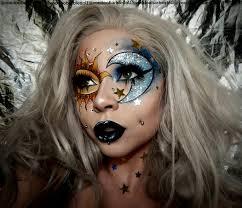 instagram insta glam halloween makeup halloween makeup celestial milk1422 face chart recreation follow me on instagram