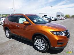 2017 monarch orange nissan rogue s awd 120155498 gtcarlot com