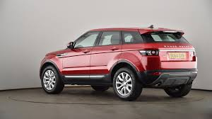pink range rover used land rover range rover evoque 2 2 sd4 pure 5dr red