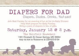 daddy diaper baby shower dad shower invitation 10 00 via