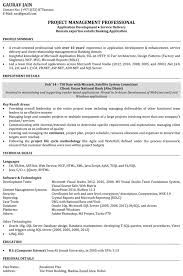 Project Resume Example by Software Engineer Resume Samples Sample Resume For Software