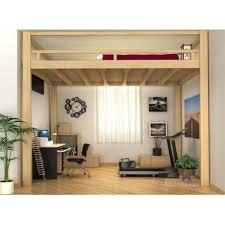 bureau sous lit mezzanine elégant mezzanine adulte lit mezzazine interieur moderne bureau