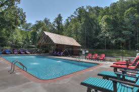the big moose lodge 16 bedroom cabin located in exclusive outdoor pool at the big moose lodge
