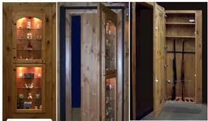 Building A Gun Cabinet Hidden Gun Cabinet U2014 Steveb Interior Project For Hidden Gun Cabinet