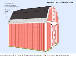 barn style roof how to install the gambrel shed roof shingles