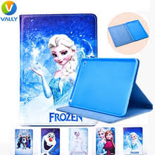 frozen paint pu cover case samsung galaxy tab t330 t310 p3100