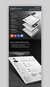 Bold Resume Template by 18 Modern Resume Templates With Clean Designs 2018