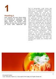 exotic food restaurant menu word template 02431 poweredtemplate com