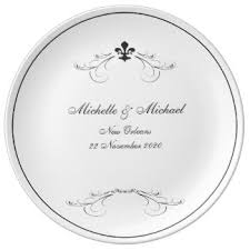 keepsake plate new orleans wedding plates zazzle