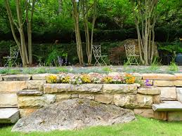 Stone For Garden Walls by This Unbelievable Lake Martin Garden Will Take Your Breath Away