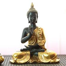 buddha statues for home decor brown ceramic buddha statue brown