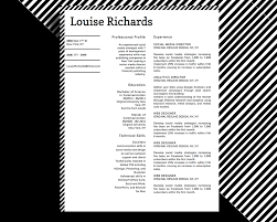 Resume Sample Copy Paste by Louise Richards Modern Professional Resume Template For Microsoft