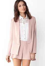 light pink blazer forever 21 pretty in pastels laurie berry beauty