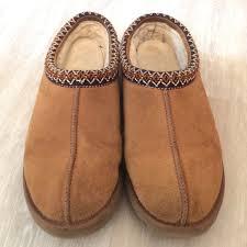 ugg tasman slippers on sale 80 ugg shoes ugg tasman chestnut slippers from s