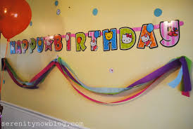 home design stunning simple birthday decor in home simple