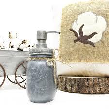 galvanized mason jar soap dispenser mason jars farmhouse
