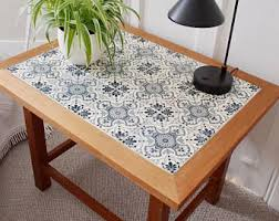 Tile Coffee Table Etsy