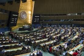 si e onu onu oltre 100 paesi votano il bando alle armi nucleari ma le