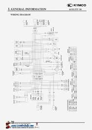 kymco agility 50 wiring diagram kymco agility 50 ignition wiring