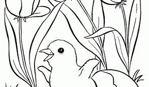 spring colouring pages preschoolers color number spring