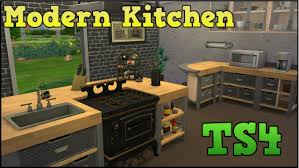 sims 3 modern kitchen the sims 4 styled rooms modern kitchen youtube