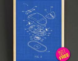 Buy Blueprints Blueprint Art Etsy
