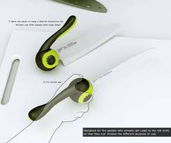 designer kitchen knives redesign the kitchen knife yanko design