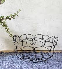 basket home decor steel wire table basket home decor u0026 lighting chareststudios
