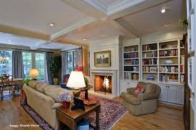 French Country Style Home Extreme Remodel  Traditional - Country family room