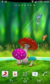 wallpaper 3d mushroom free mushroom 3d live wallpaper apk download for android getjar