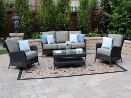 black wicker patio set home decor ideas