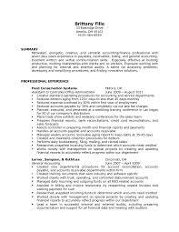 Accounts Receivable And Payable Resume Account Payable Resume Eliolera Com