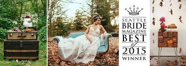 wedding rentals seattle vintage ambiance
