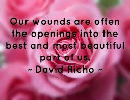 therapy openings our wounds are often the openings psychology quotes