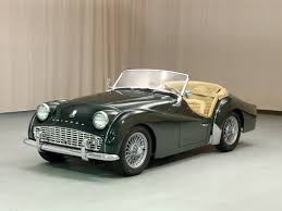 1958 triumph tr3 equipped with a 1 991 cc 100 hp overhead valve