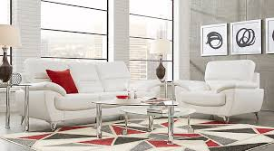Affordable Living Room Sets Northway White 5 Pc Living Room 999 99 Find Affordable Living