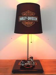 harley davidson motorcycle lamp biker light table lamp home
