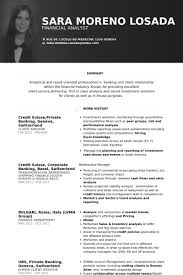 Sample Of Banking Resume by Banking Resume Samples Visualcv Resume Samples Database