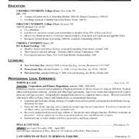 Best Attorney Resumes by Appealing In House Counsel And Attorney Resume Vntask Com