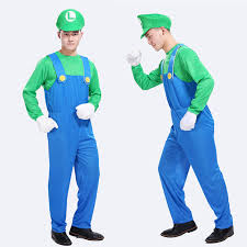 Mario Costume Aliexpress Com Buy Free Shipping Cosplay Halloween Costume