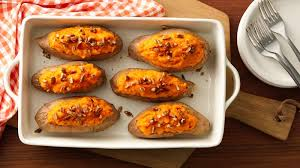 make ahead baked sweet potatoes recipe bettycrocker