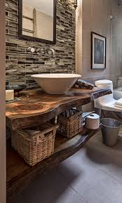 unique countertops rustic bathroom countertops