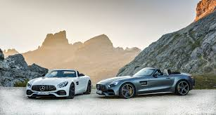 the new mercedes amg gt roadster and mercedes amg gt c roadster