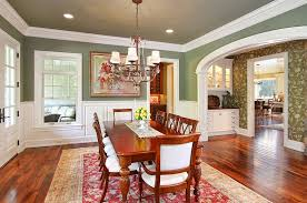 Green Dining Room And Green Dining Rooms For The Holidays And Beyond