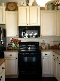 colourful kitchen cabinets cream colored kitchen cabinets with black appliances home design